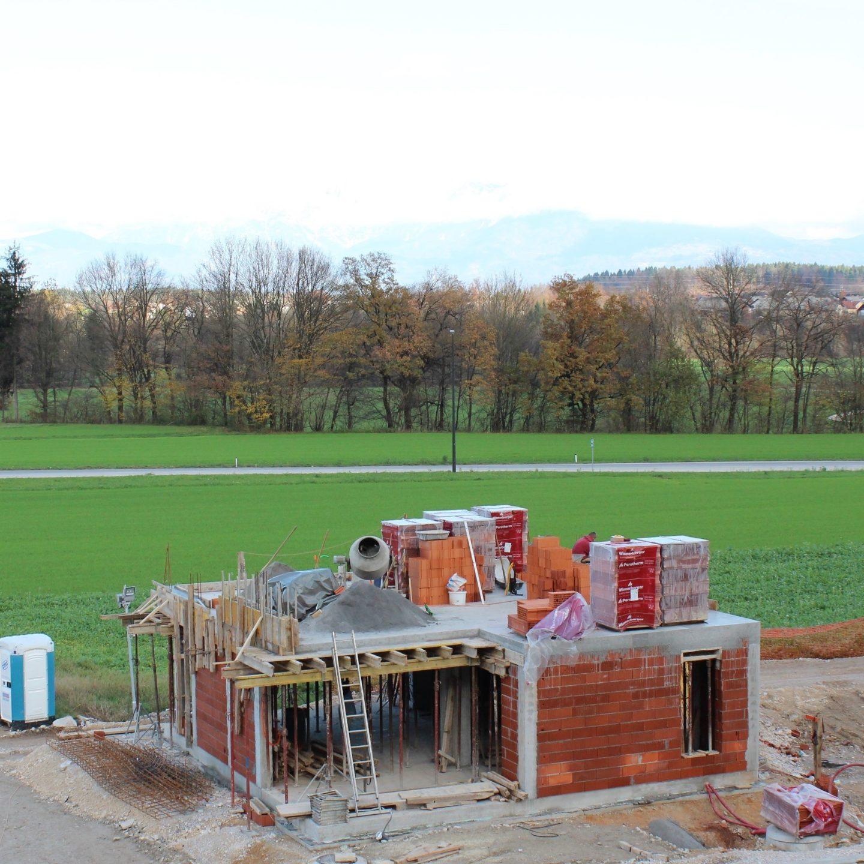 Na voljo samo še ena hiša iz 1. faze gradnje